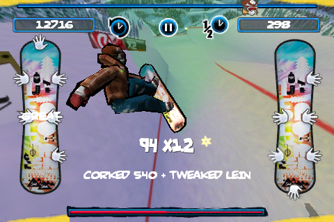 Screenshot X2 Snowboarding
